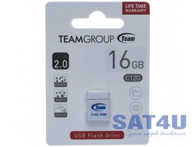 Флешка 8GB USB2.0 Team C12G Black