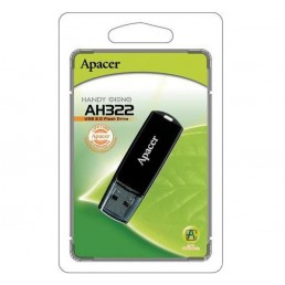 Флешка 32GB USB2.0 APACER AH322 black