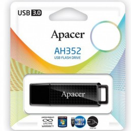 Флешка 64GB USB3.0 APACER AH352 black