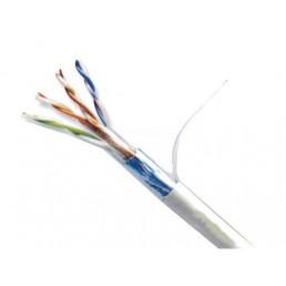 Вита пара FTP Сat.5e KW-Link 4x2x(0,51CU), діам.-6,3мм, сірий, 305м
