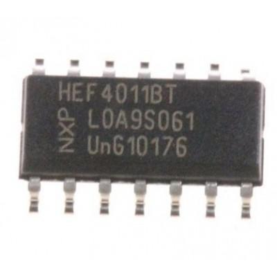 Мікросхема HEF4011BT (SO-16)