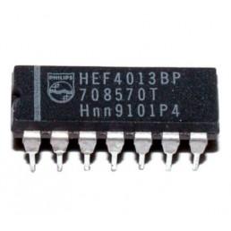 Мікросхема HEF4013BP (DIP-14)