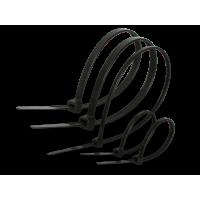 Стяжки нейлонові 80х3.0 мм чорні