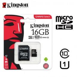 Картка пам'яті 16GB Kingston micro SDXC  Class 10 +adapter