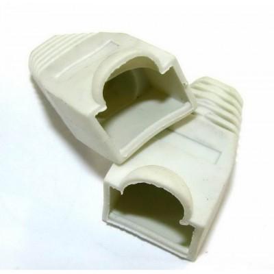Ковпачок 8p8c ( RG45) /білий