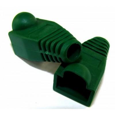 Ковпачок 8p8c ( RG45) /зелений