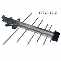 Антена DVB-T/T2  (21-69) логоперіодична ( LOGO12-2)