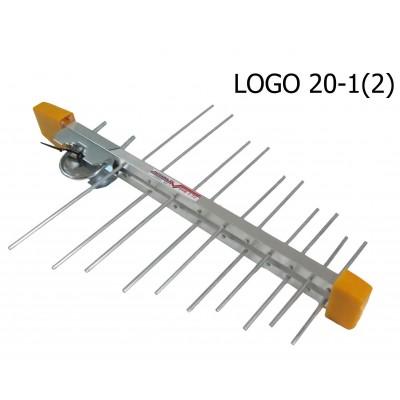 Телевізійна логоперіодична антена T2 LOGO20-2