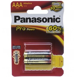 LR03 (AAA) PANASONIC Pro Power 1x2