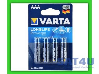 LR03 (AAA) VARTA LONGLIFE 1x4