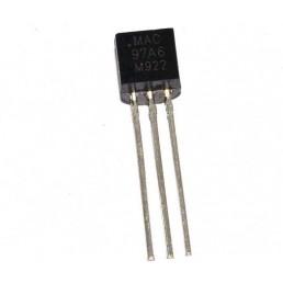 Симістор MAC97A6 (0.6A 400V) [TO-92]