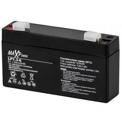 Акумулятор 6V*1,3Ah MaXpower 0400