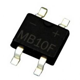 Діодний міст MB10F (1A 1000V) (SOP-4)