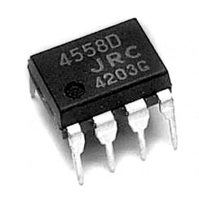 Мікросхема NJM4558D (DIP8)