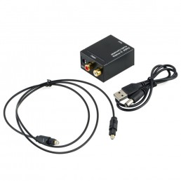 Адаптор АУДІО Optical,S/PDIF to RCA