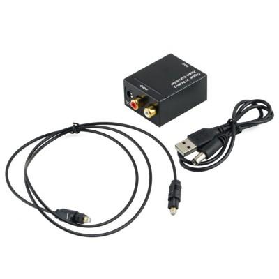 Оптичний перехідник АУДІО Optical, S/PDIF to RCA