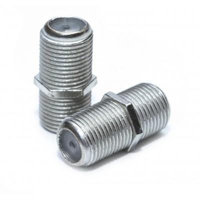 Перехідник F-бочка (F-гн./F-гн.)  21mm