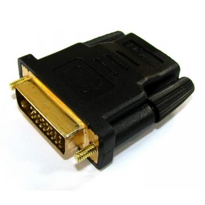Перехідник гніздо HDMI - штекер DVI (24+1)