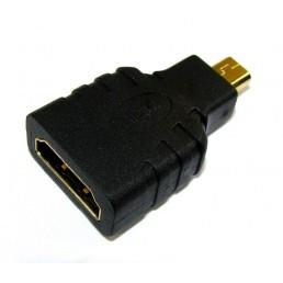 Перехідник гн.HDMI/шт.micro HDMI