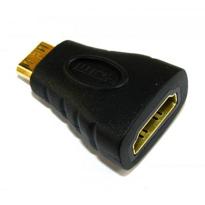 Перехідник гн.HDMI/шт.mini HDMI
