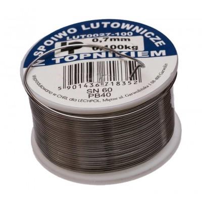 Припій LP LUT0027-100 0.7mm (100g.)