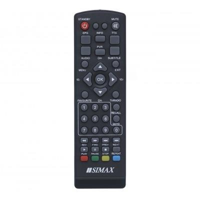 Пульт до T2 SIMAX RED HD (CE)