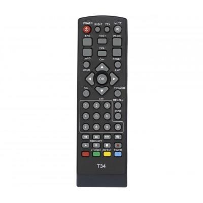 Пульт T2 World Vision T34  DVB-T2 (CE)