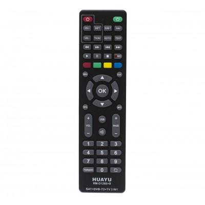 Пульт універсальний HUAYU RM-D1266+B  (DVB-T2)