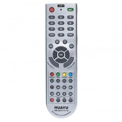 Пульт універсальний HUAYU RM-SAT1111  (SAT+DVB-T2+TV)