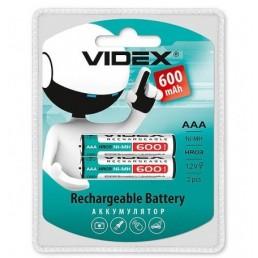 Акумулятор R03 AAA 600mAh/B2  VIDEX Ni-MH