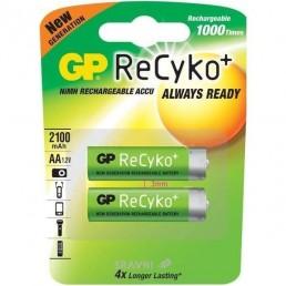 R06 AA 2100mAh/B4  GP Ni-MH Recyko
