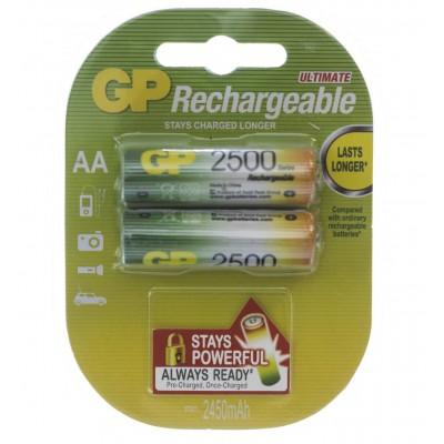 R06 AA 2500mAh/B2  GP Ni-MH (Recyko)