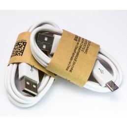 Шнур miсro USB (Samsung CA-101) 1.5м , long білий