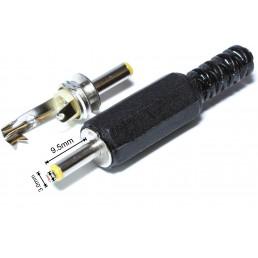 Штекер DC/1.0*3.0mm х 9.5mm