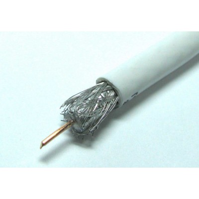 Телевізійний кабель Skyprime S660 #3 || білий 305м