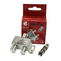 Сплітер 1/2 EuroSAT Cable 5-100MHZ (конденсатор)