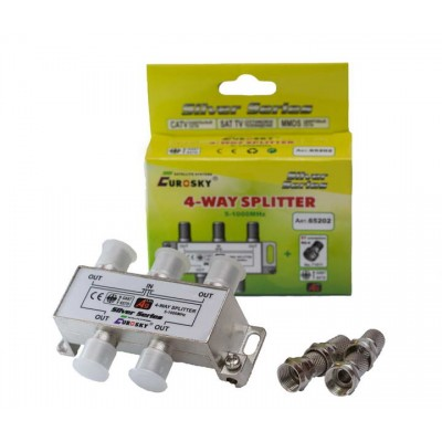 Сплітер 1/4 EUROSKY 65202 (конденсатор)