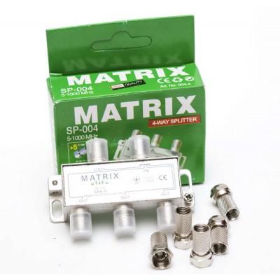 Сплітер 1/4 MATRIX SP-004 (прохідний)