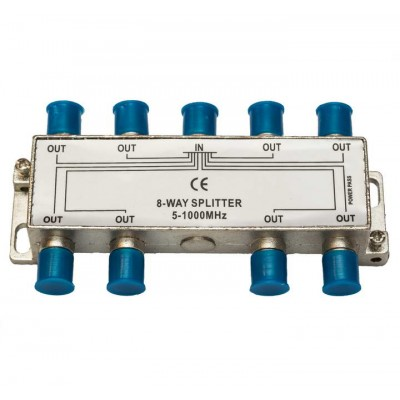 Сплітер 1/8  BZT HQ  5-1000 MHz (прохідний)