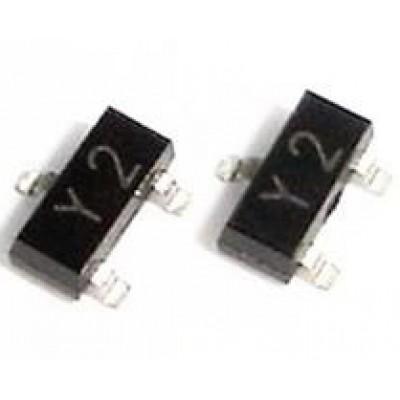 Транзистор SS8550LT1G (Y2) (40V*1.5A*0.3W) SOT-23 P-N-P