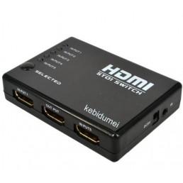 Суматор HDMI 5*1 (1080P/3D)
