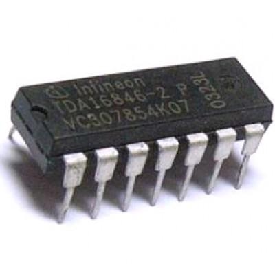 Мікросхема TDA16846-2 (DIP-14)