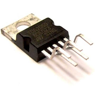 Мікросхема УНЧ TDA2050 (TO-220-5)