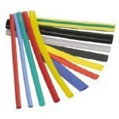 Термоусадочна трубка  6,0/3,0 кольорова (1м.)