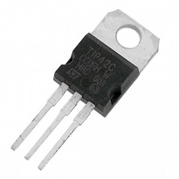 Транзистор TIP42C (100V*6F*65W) (P-N-P) TO-220
