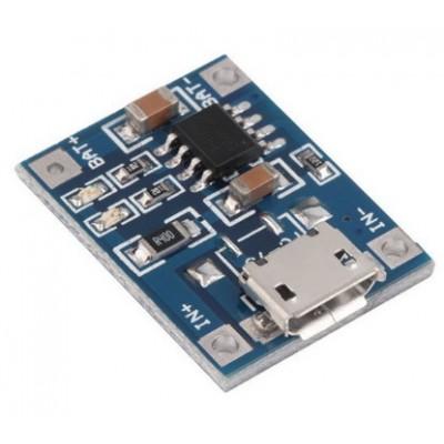 Зарядний пристрій TP4056 1A (LiPo)
