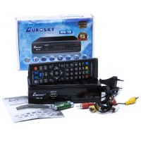 Тюнер DVB-T2 EUROSKY ES-18 HD FTA