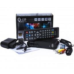 Тюнер DVB-T2 Q-SAT Q125 HD  FTA