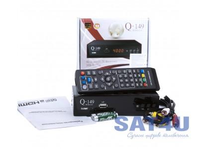 Тюнер DVB-T2 Q-SAT Q149 HD  FTA