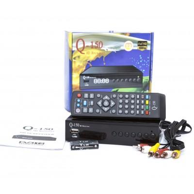 Тюнер T2 Q-SAT Q150 HD  FTA